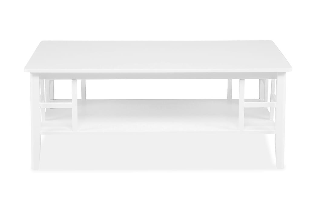 Soffbord Piteå 130 cm Vit - Vit - Möbler - Bord - Soffbord