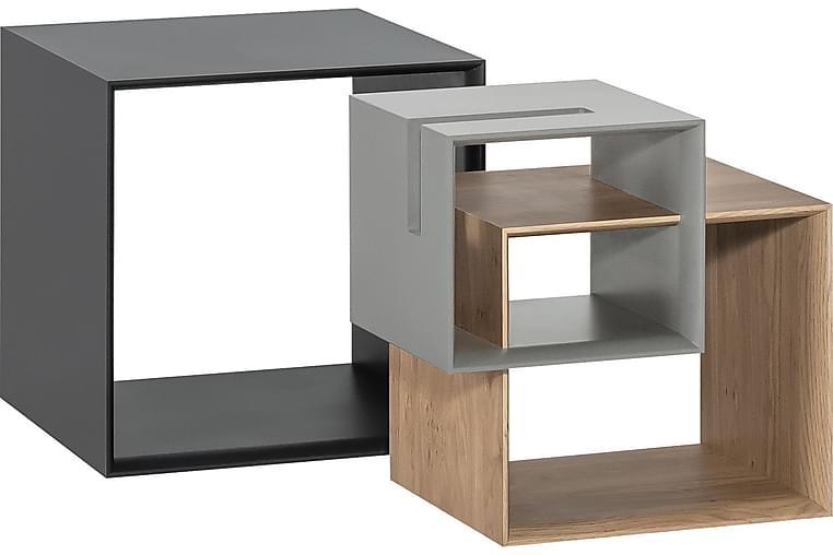 Soffbord Ribbon Trä/Natur/Grå - VOX - Möbler - Bord - Soffbord