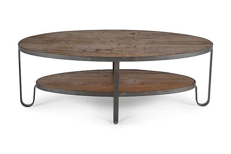 Soffbord Svedjan 128 cm Ovalt Trä - Trä - Möbler - Bord - Soffbord
