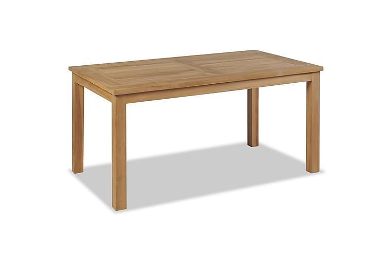 Soffbord teak 90x50x45 cm - Brun - Möbler - Bord - Soffbord