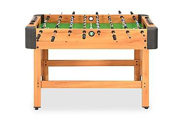 Fotbollsbord 118x95x79 cm lönn