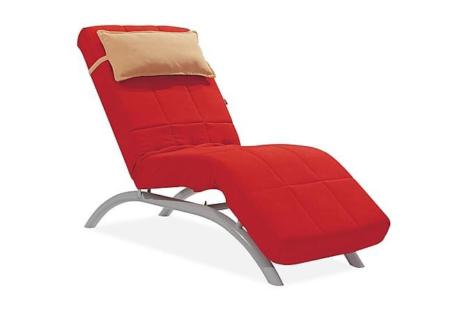 Liggfåtölj Arlani - Röd - Möbler - Fåtöljer & fotpallar - Liggfåtölj