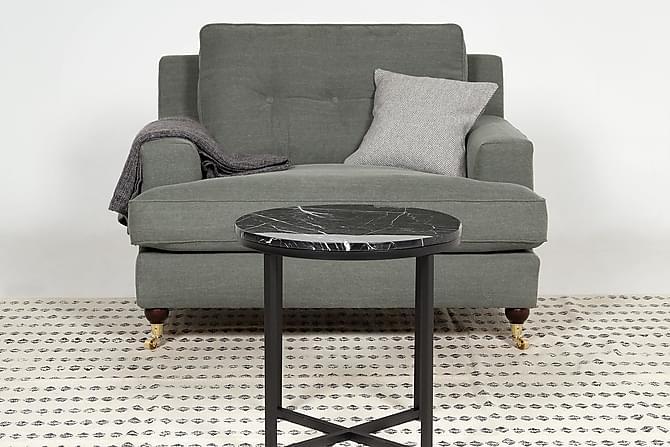 Fåtölj Covington Grön - Grön|Grå - Möbler - Fåtöljer & fotpallar - Fåtöljer