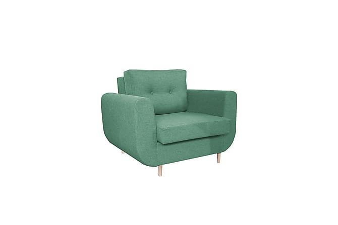 Fåtölj Stevens - Grön - Möbler - Fåtöljer & fotpallar - Fåtöljer