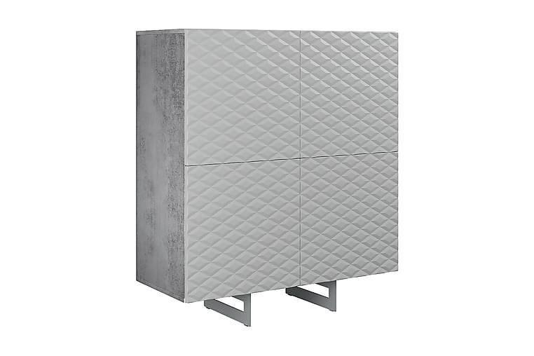 Byrå Korfu 110x45 cm - Mörkgrå/Grå - Möbler - Förvaring - Byrå