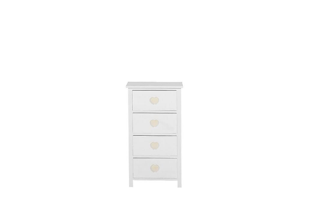 Byrå Sermano 40 cm - Vit - Möbler - Förvaring - Byrå