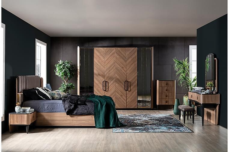 Byrå Sipahi 65x43 cm - Natur/Svart - Möbler - Förvaring - Byrå