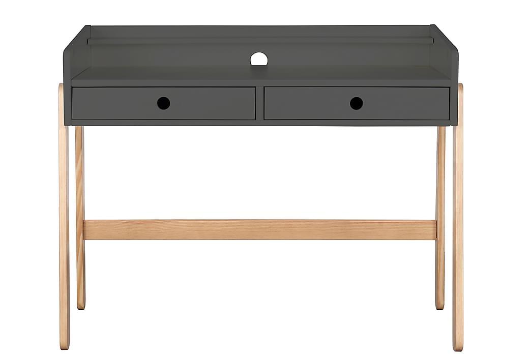Skrivbord Hinsel 108 cm - Trä/Grå - Möbler - Förvaring - Byrå