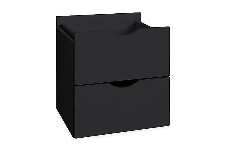 Låda Kiera 33 cm 2-pack - Svart - Möbler - Förvaring - Korgar & förvaringslådor