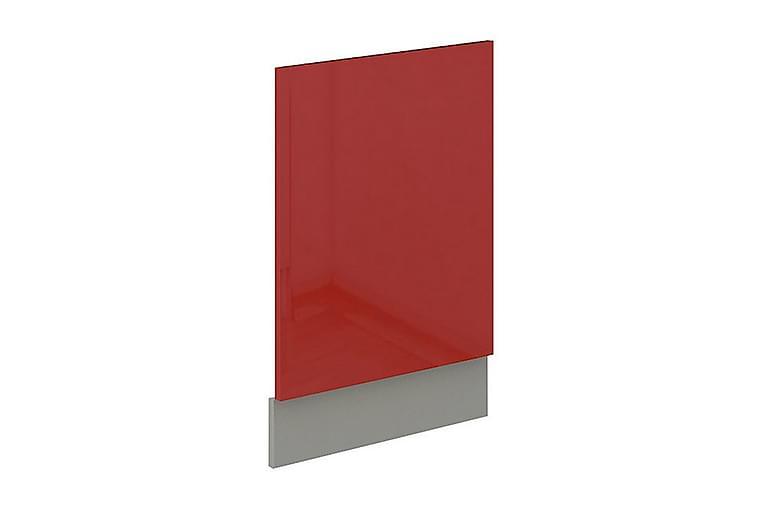 Dörr för diskmaskin Rose 44,6x1,6x57 cm - Röd - Möbler - Förvaring - Förvaringsskåp