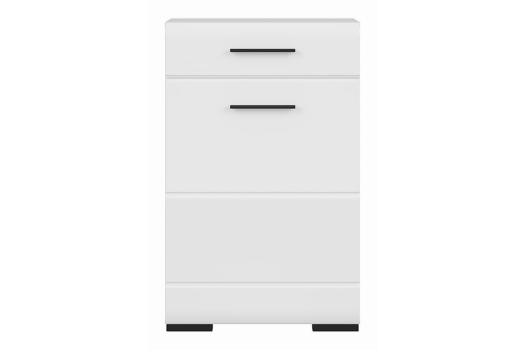 Förvaringsskåp Ayoluengo - Vit - Möbler - Förvaring - Förvaringsskåp