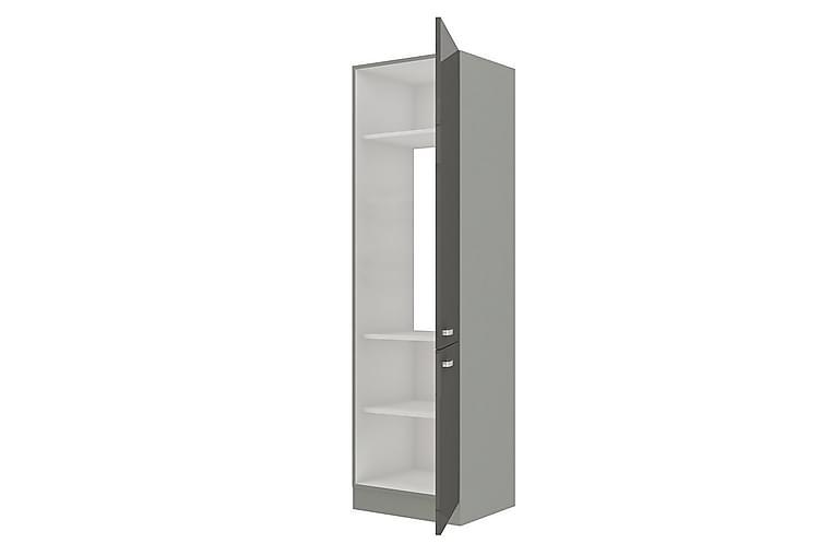 Förvaringsskåp Helmsley 60 cm - Grå/Vit - Möbler - Förvaring - Förvaringsskåp