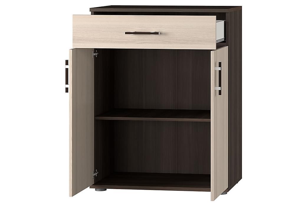 Förvaringsskåp Inez 80x44x105 cm - Beige - Möbler - Förvaring - Förvaringsskåp
