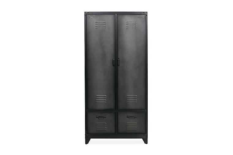 Förvaringsskåp Tamira 90 cm - Svart Metall - Möbler - Förvaring - Förvaringsskåp