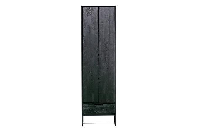 Garderob Shukari - Svart - Möbler - Förvaring - Förvaringsskåp