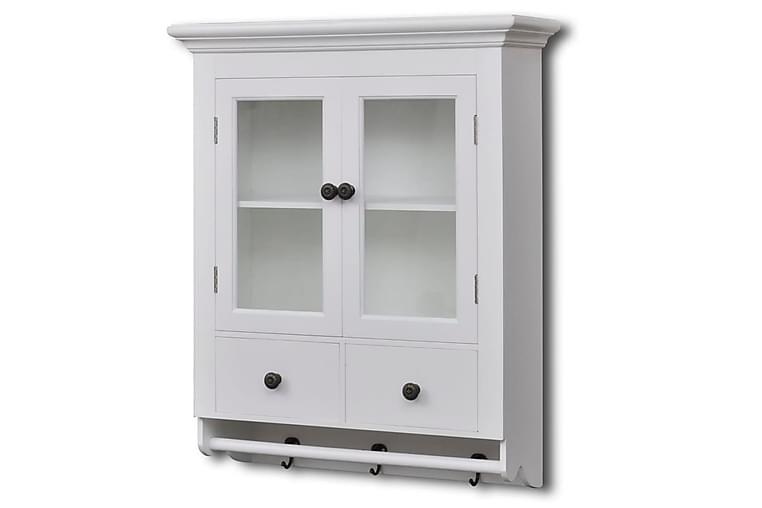 Köksskåp med glaslucka vit - Vit - Möbler - Förvaring - Förvaringsskåp