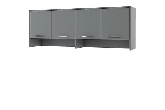 Skåp Storli 215 cm - Grå - Möbler - Förvaring - Förvaringsskåp