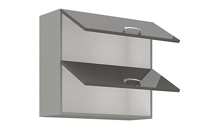 Väggskåp Grey 80x31x71,5 cm - Svart|Grå - Möbler - Förvaring - Förvaringsskåp