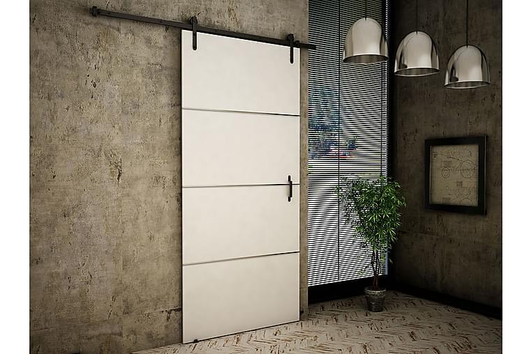 Dörr Cali 200x106x219 cm - Vit - Möbler - Förvaring - Garderober & garderobssystem