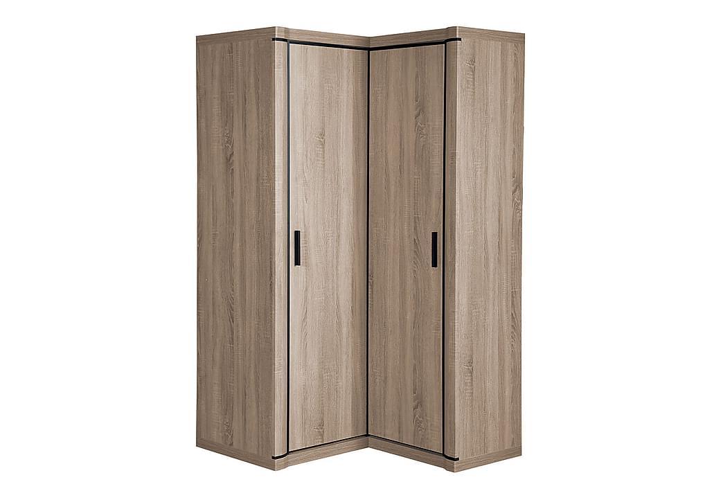 Garderob Dallas 100x58x192 cm - Beige - Möbler - Förvaring - Garderober & garderobssystem