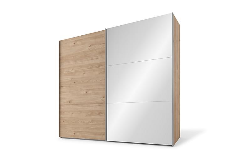 Garderob Dundridge 150 cm Spegel - Brun - Möbler - Förvaring - Garderober & garderobssystem