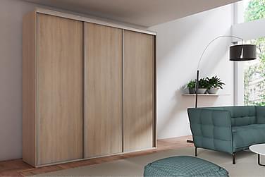 Garderob Grande 254x62x244 cm