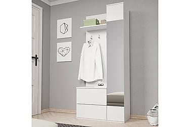 Garderob Green 90x34x195 cm