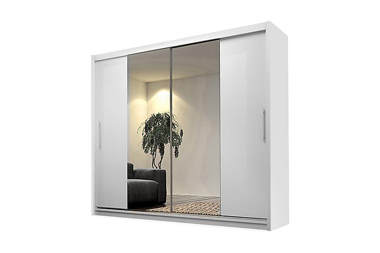 Garderob Kola 180x58x213 cm - Vit - Möbler - Förvaring - Garderober & garderobssystem