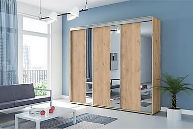 Garderob Laura 278x62x245 cm