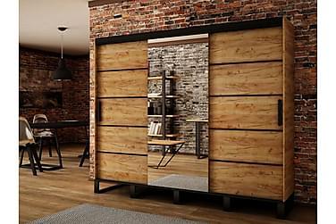 Garderob Loft 250x62x212 cm