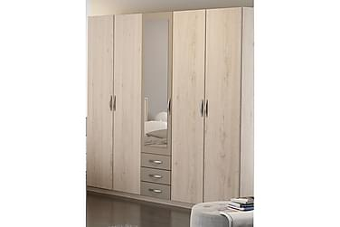 Garderob Matheus 212 cm 4+1 Dörrar 3 Lådor Spegel