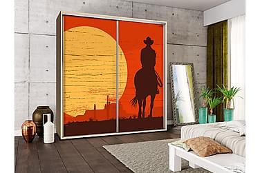 Garderob Penelopa 205x66x215 cm