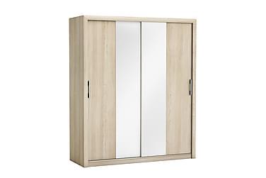 Garderob Pretty 173 cm Skjutdörrar Spegel