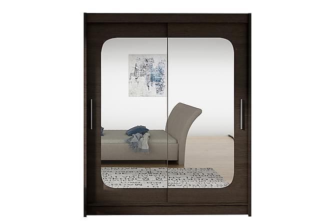 Garderob West 150x58x200 cm - Blå Vit - Möbler - Förvaring - Garderober & garderobssystem