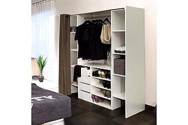 Garderobssystem Alvy Vit