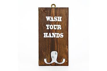 Handdukshängare Arthur Wash Your Hands'