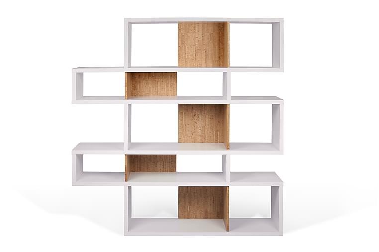 Bokhylla London 156x160 cm Vit/Trä - Temahome - Möbler - Förvaring - Hyllor