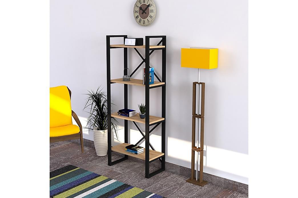 Bokhylla Tyquis 150 cm - Blå - Möbler - Förvaring - Hyllor