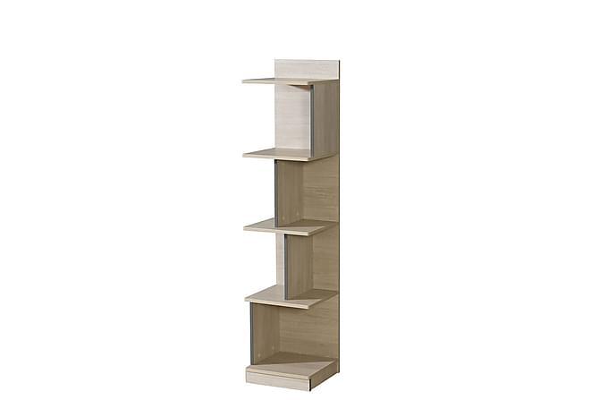 Hylla Gumi 35x38x159 cm - Ek Grå - Möbler - Förvaring - Hyllor