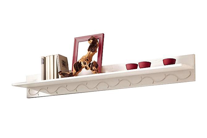 Hylla Larens 130 cm - Vit - Möbler - Förvaring - Hyllor