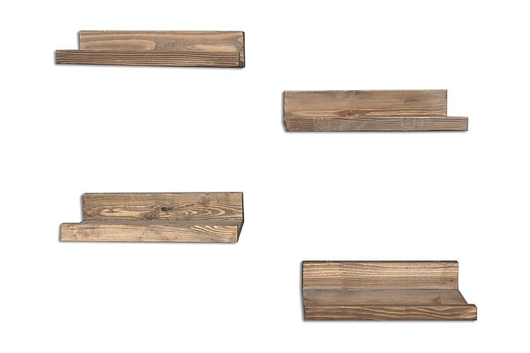 Tavelhyllor Arthur 4-pack - Trä - Möbler - Förvaring - Hyllor
