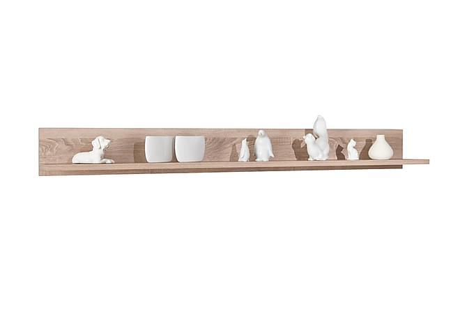 Vägghylla Fabius 176 cm - Ljus Ek - Möbler - Förvaring - Hyllor