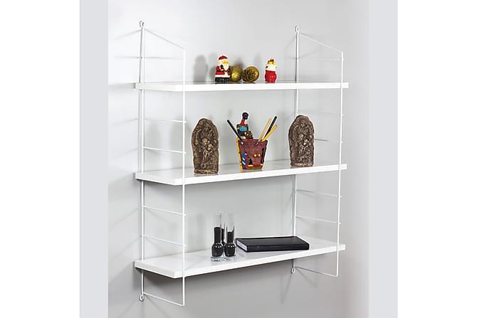 Vägghylla Forbis 3 Hyllor - Vit - Möbler - Förvaring - Hyllor