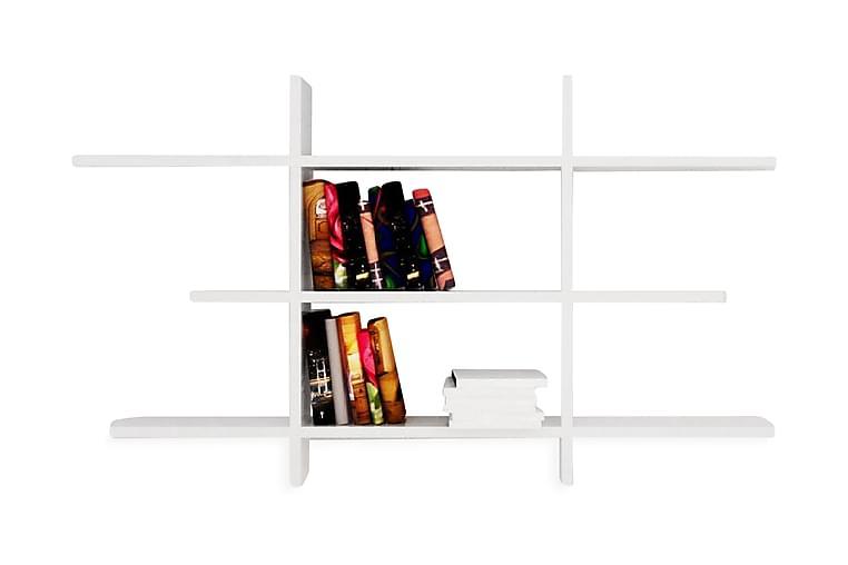 Vägghylla Forbis - Vit - Möbler - Förvaring - Hyllor