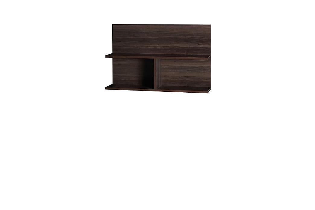 Vägghylla Inez 80x22x50 cm - Brun - Möbler - Förvaring - Hyllor