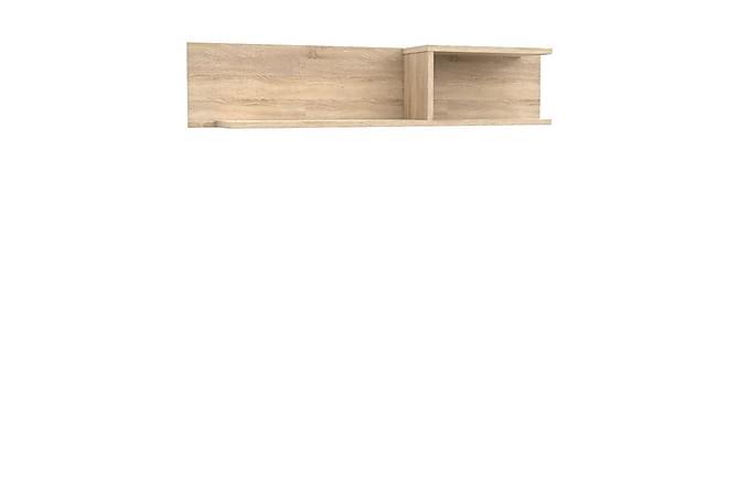 Vägghylla Yoop 143x24x29 cm - Beige - Möbler - Förvaring - Hyllor