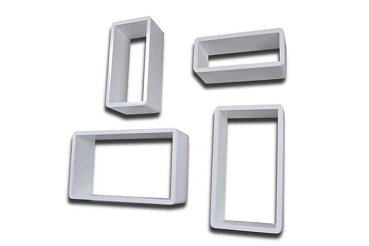 Vägghyllor kub 8 st vit - Vit - Möbler - Förvaring - Hyllor