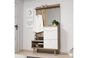 Hallmöbelset Primo 110x34x200 cm