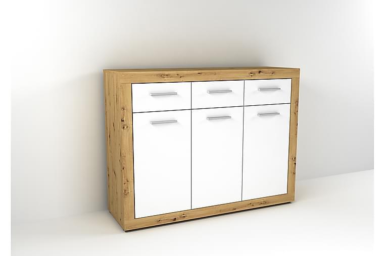 Kista Rasbo 117 cm - Brun Vit - Möbler - Förvaring - Sideboard & skänk