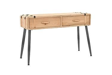 Konsolbord massivt granträ 115x40,5x76 cm